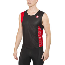Castelli T.O. Alii Run Top Men black/red